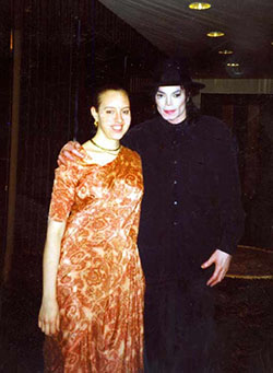 michael-jakson with devotee